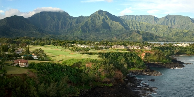 Princeville Makai Golf Club - Holes 6 and 7