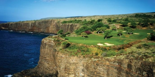 Manele Golf Course - Four Seasons Resort Lanai Hawaii golf packages